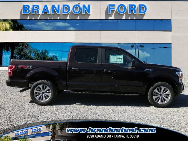2018 F-150 Crew Cab 4x4 Pickup #J1448 - photo 1