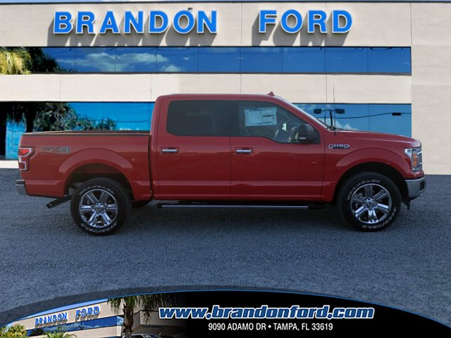 2018 F-150 Crew Cab 4x4 Pickup #J1769 - photo 1