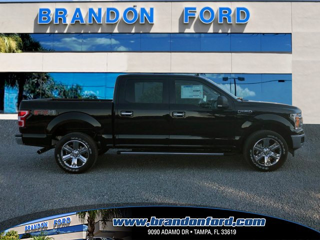 2018 F-150 Crew Cab 4x4 Pickup #J1796 - photo 1