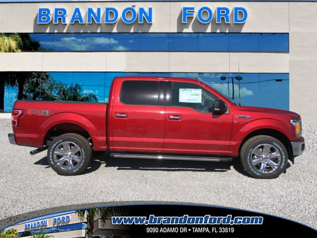 2018 F-150 Crew Cab 4x4 Pickup #J1839 - photo 1