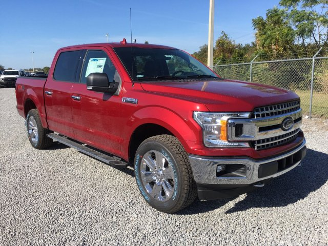 2018 F-150 Crew Cab 4x4 Pickup #J1839 - photo 8