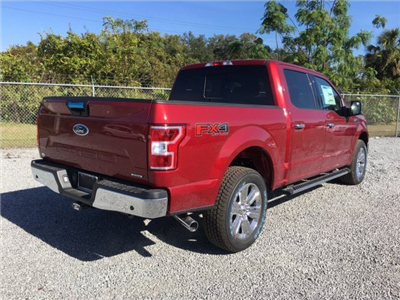 2018 F-150 Crew Cab 4x4 Pickup #J1839 - photo 2