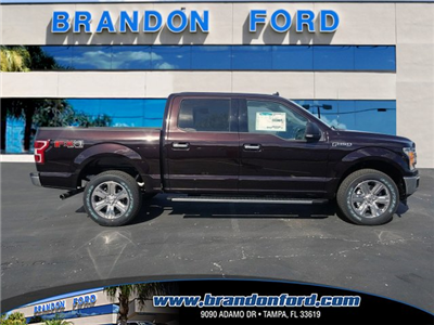 2018 F-150 Crew Cab 4x4, Pickup #J1976 - photo 1