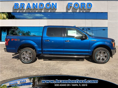 2018 F-150 Crew Cab 4x4, Pickup #J2049 - photo 1