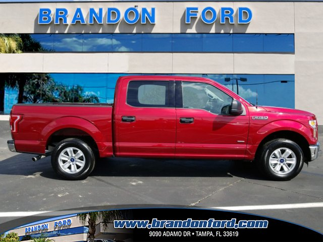 2016 F-150 SuperCrew Cab 4x2,  Pickup #J2612A - photo 1