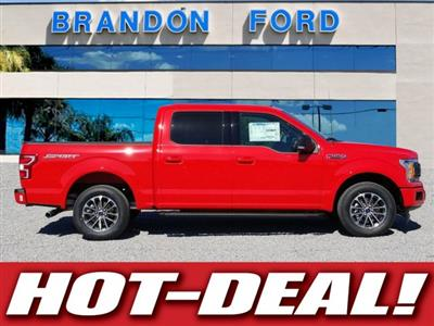 2018 F-150 SuperCrew Cab 4x2,  Pickup #J3980 - photo 1