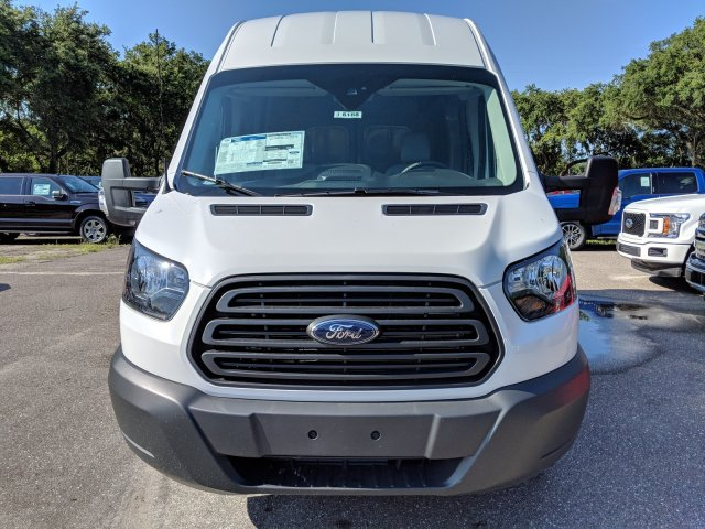 2018 Transit 350 High Roof 4x2,  Empty Cargo Van #J6188 - photo 8