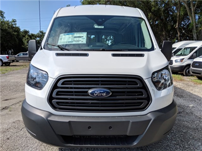 2018 Transit 250 Med Roof 4x2,  Empty Cargo Van #J6189 - photo 8