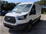 2018 Transit 250 Med Roof 4x2,  Empty Cargo Van #J6189 - photo 7