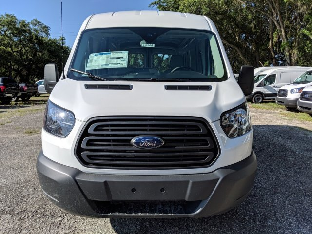 2018 Transit 250 Med Roof 4x2,  Empty Cargo Van #J6200 - photo 8