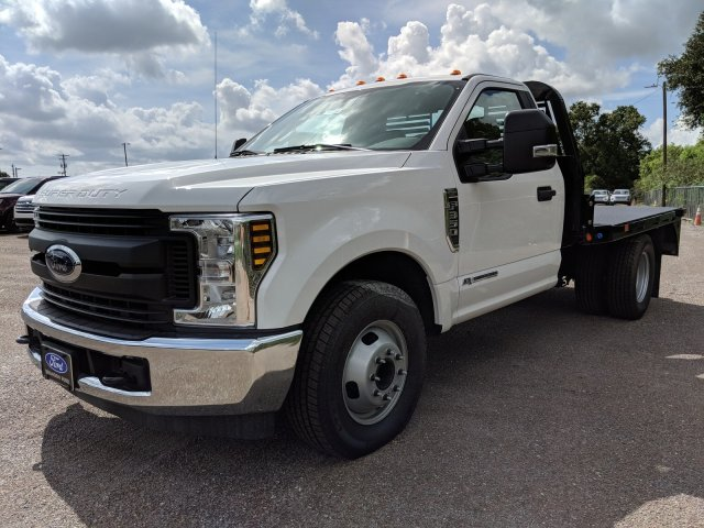2018 F-350 Regular Cab DRW 4x2,  Bedrock Flatbed Body #J6251 - photo 9