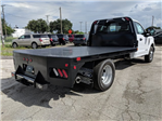 2018 F-350 Regular Cab DRW 4x2,  Bedrock Flatbed Body #J6307 - photo 1