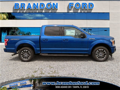2018 F-150 SuperCrew Cab 4x2,  Pickup #J6515 - photo 1