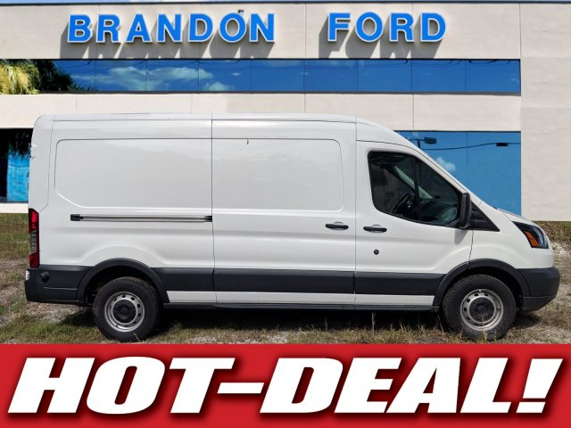 2018 Transit 150 Med Roof 4x2,  Empty Cargo Van #J7084 - photo 1