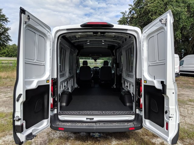 2018 Transit 150 Med Roof 4x2,  Empty Cargo Van #J7084 - photo 11