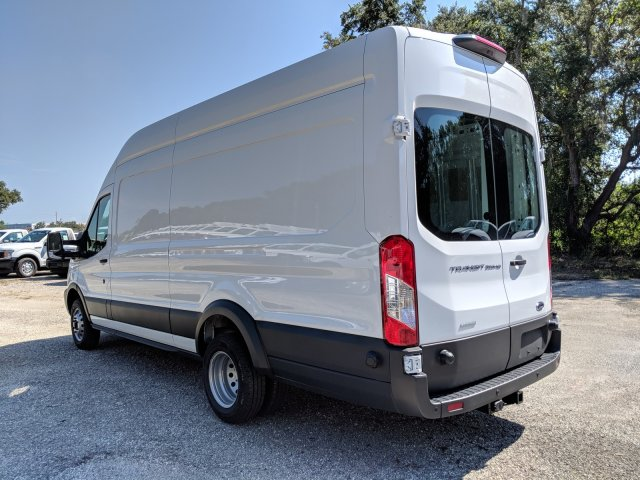 2018 Transit 350 HD High Roof DRW 4x2,  Empty Cargo Van #J7220 - photo 5