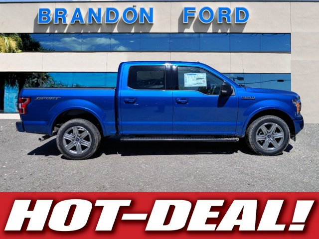 2018 F-150 SuperCrew Cab 4x2,  Pickup #J8046 - photo 1