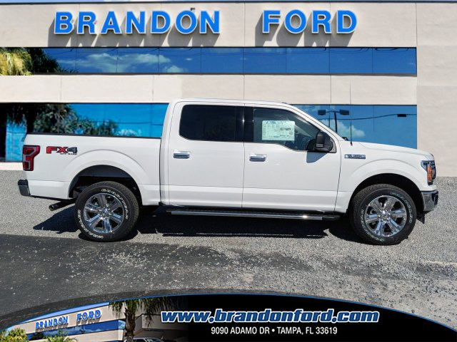 2018 F-150 SuperCrew Cab 4x4,  Pickup #J8118 - photo 1