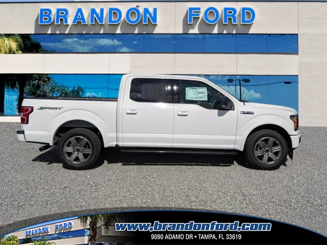 2018 F-150 SuperCrew Cab 4x2,  Pickup #J8291 - photo 1