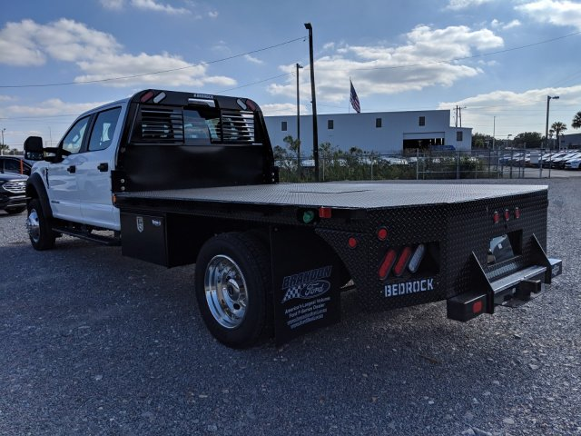 2019 F-450 Crew Cab DRW 4x4,  Bedrock Flatbed Body #K0437 - photo 4