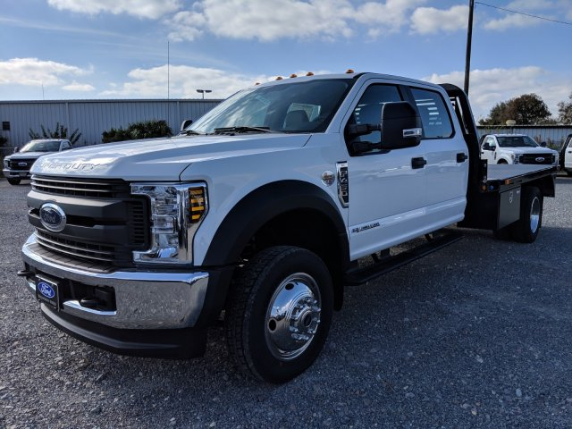 2019 F-450 Crew Cab DRW 4x4,  Bedrock Flatbed Body #K0437 - photo 5