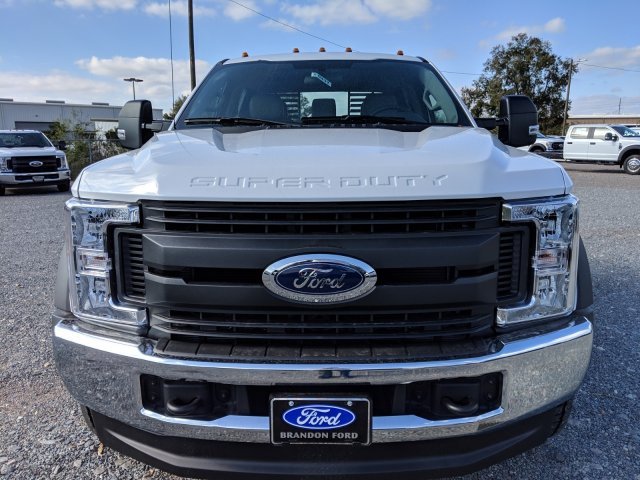 2019 F-450 Crew Cab DRW 4x4,  Bedrock Flatbed Body #K0437 - photo 6