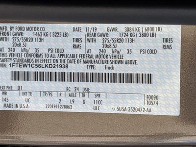 2020 Ford F-150 SuperCrew Cab 4x2, Pickup #SL5305A - photo 30