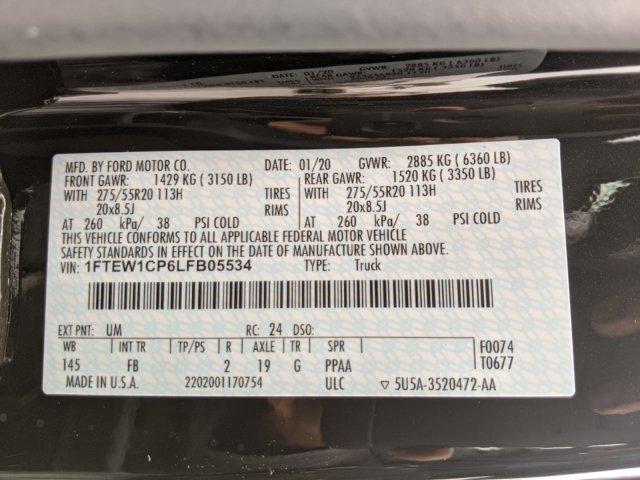 2020 Ford F-150 SuperCrew Cab 4x2, Pickup #M2235A - photo 36