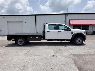 2020 Ford F-550 Crew Cab DRW 4x4, Bedrock Diamond Series Flatbed Body #L3464 - photo 2