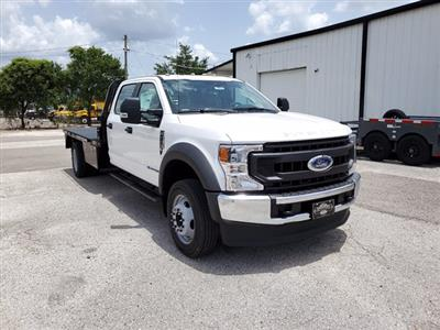 2020 Ford F-550 Crew Cab DRW 4x4, Bedrock Diamond Series Flatbed Body #L3464 - photo 3
