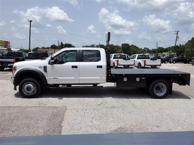 2020 Ford F-550 Crew Cab DRW 4x4, Bedrock Diamond Series Flatbed Body #L3464 - photo 6