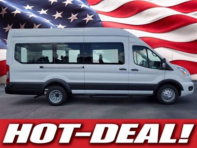 2020 Ford Transit 350 HD High Roof DRW RWD, Passenger Wagon #L3682 - photo 1