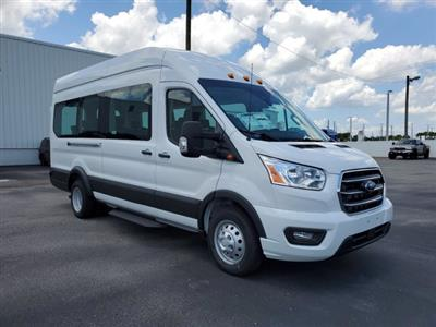 2020 Ford Transit 350 HD High Roof DRW RWD, Passenger Wagon #L3682 - photo 2