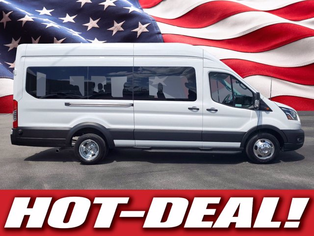 2020 Ford Transit 350 HD High Roof DRW 4x2, Passenger Wagon #L4752 - photo 1