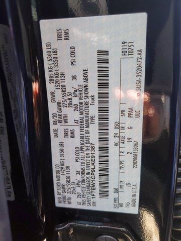 2020 Ford F-150 SuperCrew Cab RWD, Pickup #L5022 - photo 1