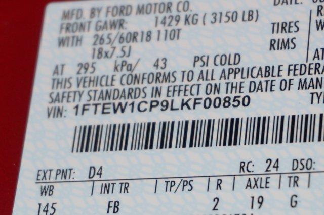 2020 Ford F-150 SuperCrew Cab RWD, Pickup #L5088 - photo 1