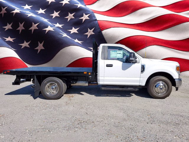 2020 Ford F-350 Regular Cab DRW 4x2, Bedrock Flatbed Body #L6336 - photo 1