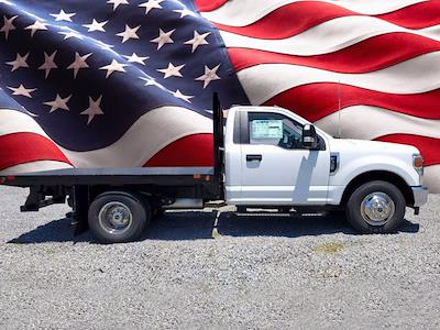 2020 Ford F-350 Regular Cab DRW 4x2, Flatbed Body #L6337 - photo 1