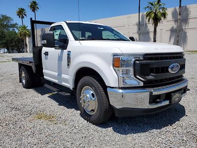 2020 Ford F-350 Regular Cab DRW 4x2, Flatbed Body #L6337 - photo 2