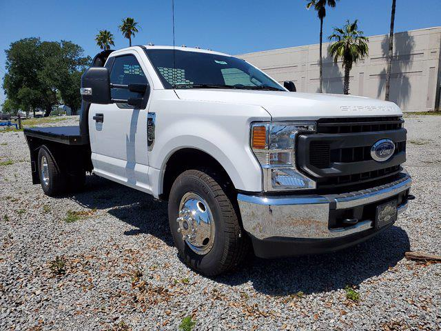 2020 Ford F-350 Regular Cab DRW 4x2, Flatbed Body #L6495 - photo 2