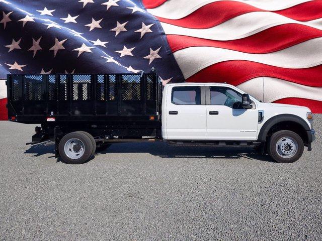 2020 Ford F-450 Crew Cab DRW 4x4, Knapheide Stake Bed #L6700 - photo 1