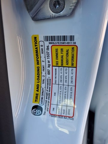 2021 Ford Transit Connect FWD, Empty Cargo Van #M0117 - photo 27