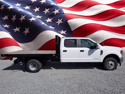 2021 Ford F-350 Crew Cab DRW 4x4, Knapheide Flatbed Body #M0644 - photo 1