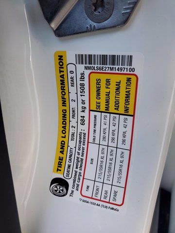 2021 Ford Transit Connect FWD, Empty Cargo Van #M0836 - photo 27