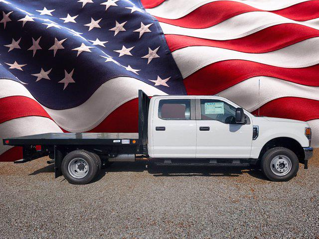2021 Ford F-350 Crew Cab DRW 4x4, Flatbed Body #M0909 - photo 1