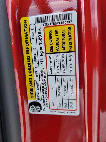 2021 Ford Ranger Super Cab 4x4, Pickup #M1949 - photo 25