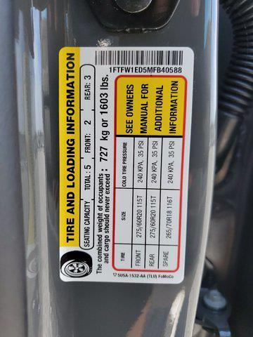 2021 Ford F-150 SuperCrew Cab 4x4, Pickup #M2186 - photo 31