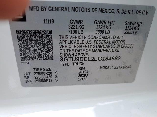 2020 Sierra 1500 Crew Cab 4x4,  Pickup #M2672A - photo 33