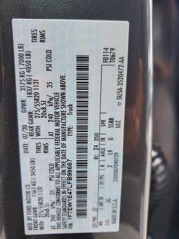 2020 F-150 SuperCrew Cab 4x4,  Pickup #M2754A - photo 55