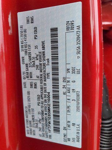 2021 F-150 SuperCrew Cab 4x4,  Pickup #M2849 - photo 30
